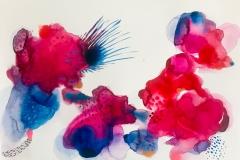 Biliana Velkova, Untitled, 2018, Mixed Media, 12x16in Value: $500