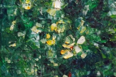 Chris Charlebois, Trailblaze, 2012, Oil on Canvas, 12x12in, Value: $900