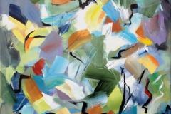 Heather MacNeil, Flight, 2017, Acrylic on Canvas, 20x20in Value: $700
