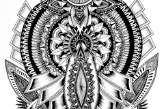 "Simranpreet Anand, ""phul"", 2015, Print, 8.5 x 11 inches. Estimate: $400"