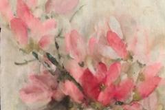 "Miao Ting Lee (Anita), ""Magnolia"", 17 x 25 inches. Watercolor on rice paper. Estimate: $900"