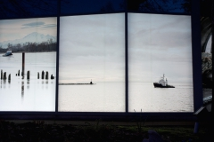 Michael Bednar, The Fraser, Living River, Minoru Windows Installation, in conjunction with Capture Photo Festival and Public Art Richmond