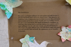Seed Paper Installation