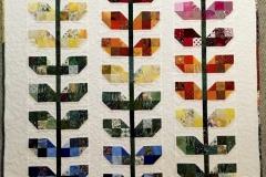 TAGOR, A Cutting Garden, 2016, Textile, 42.5x57.5in, Value: $400