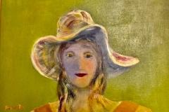 Margareth Fry,  Laura, 2015, Acrylic, 16x20in, Value: $350