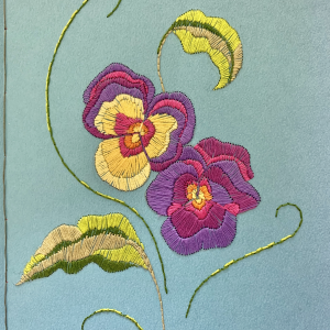 Julienne embroidery